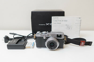 Fujifilm Fuji X100 12.0 MP Digital Camera ~$451 code PINCH5