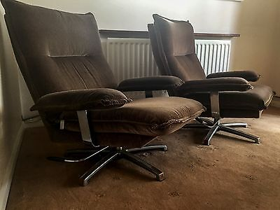 Danish Swivel Chairs probably from the 70's
