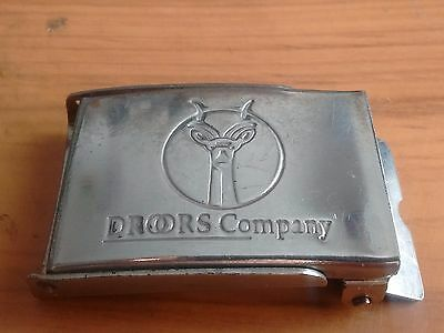 Droors Clothing Company (pre DC Shoes) Vintage Kult Belt Buckle (Very well used)