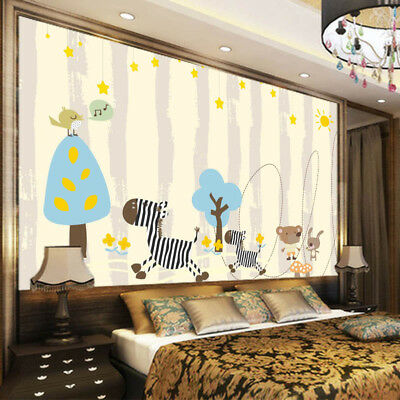Hand-painted People 3D Full Wall Mural Photo Wallpaper Printing Home Kids Decor