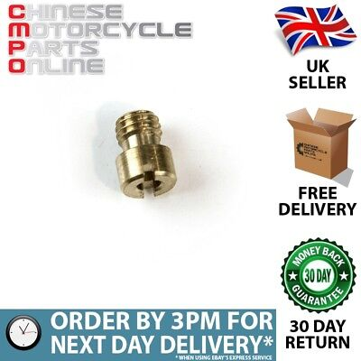 5mm Carburettor Main Jet Size 125 (CRBJT020)