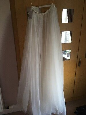 Wedding Dress Over Skirt