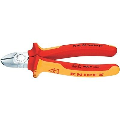 Knipex 160Mm Vde Insulated All Purpose Side Cutters