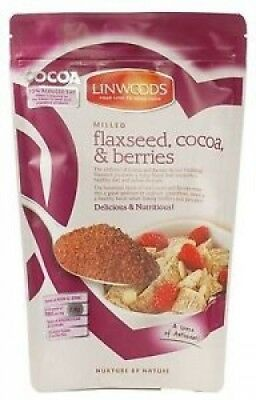 Linwoods Milled Flaxseed Cocoa & Berry - 360g. Best Price
