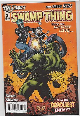 Swamp Thing # 3 The New 52 Fn/vf?