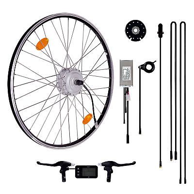 e bike motor kit pedelec 26 zoll umbausatz mit frontmotor. Black Bedroom Furniture Sets. Home Design Ideas