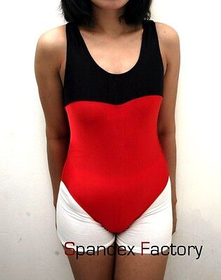 New Red Ballet / Dance Leotard with Thin Straps for Women size 10 Small