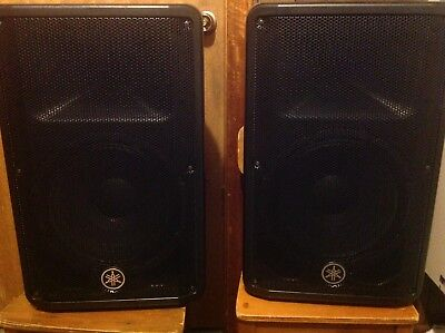 Yamaha CBR12. Speakers