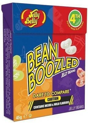 Jelly Belly Bean Boozled 45g Box 4th Edition Beanboozled