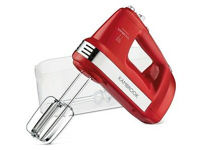 Kambrook KHM300RED Mix & Store Hand Mixer - Red