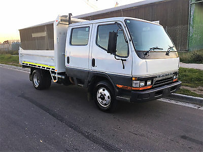 Mitsubishi Canter Dual Cab / Tipper with RWC REGO