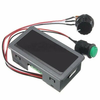 DC 6-30V 12V 24V MAX 8A Motor PWM Speed Controller With Didital Display Switch J