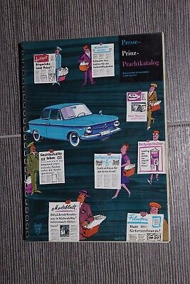 (31A) Catalogue informations presse NSU Prinz 1961