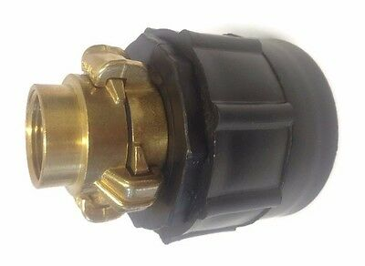 Elbow 20mm 1PCS IBC Tank Outlet Fitting//Adapter S60X6 with Range of Tap Outlets BE-TOOL IBC Tank Adapter 3//4