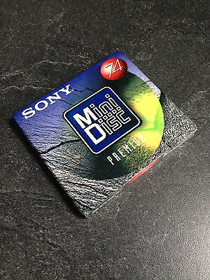 New Sealed Sony Mdw-74B Recordable Mini Disc 74 Min Md