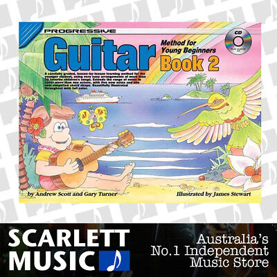 Progressive Guitar Method for Young Beginners Book 2 ( Two / Second ) *WITH CD*