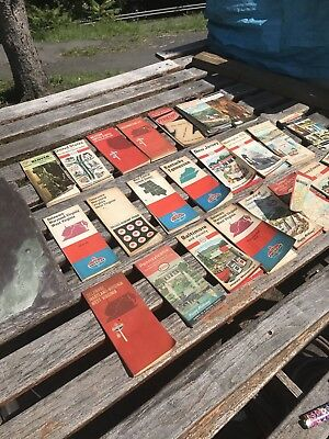 Vintage Oil And Gas Road Maps Lot