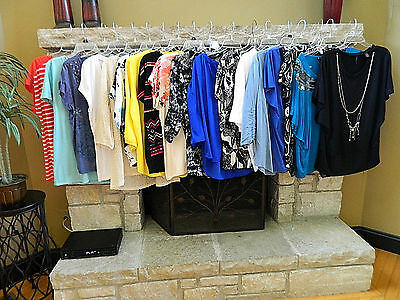 HUGE Variety! 18 Piece Lot of Womens Tops-Shirts-Blouses_Size Extra Large XL