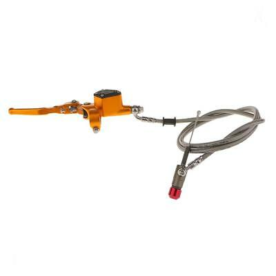 1200MM Yellow Hydraulic Clutch Lever Master Cylinder for Bike ATV Motorcycle
