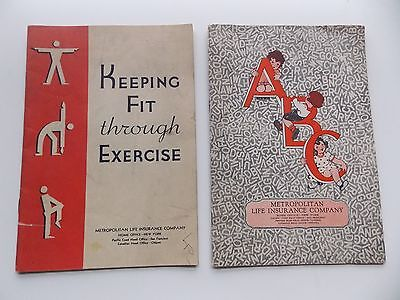2 Booklets from Metropolitan Life Insurance Company: ABCs + Keeping Fit