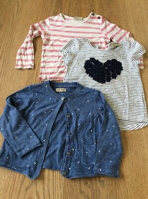 Next Girls T-shirts And Cardigan 18-24 Months