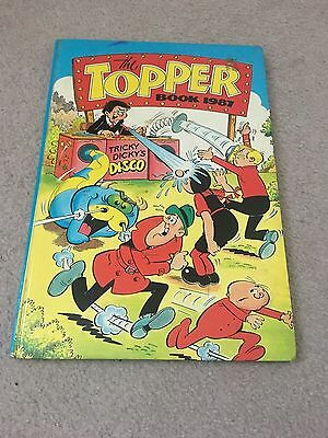 The Topper Book Annual - 1987 - Good Condition