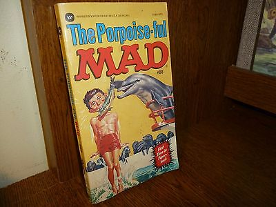 Paperback: The Porpoise-ful MAD==#88==EX condition