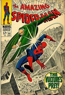 The Amazing Spider-Man #64 (Sep 1968, Marvel)