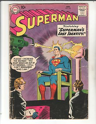 SUPERMAN #126 1959 Alfred E Neuman XOver Great DC Silver Age Classic  SUPERMAN