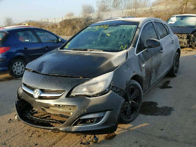 2014 Vauxhall Astra 1.6i VVT 16v  auto SRi CAT C DAMAGES SALVAGE REPAIRABLE