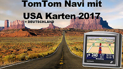 tomtom xl navi mit usa karte amerika de karten von 2017 navigationssystem eur 84 99. Black Bedroom Furniture Sets. Home Design Ideas