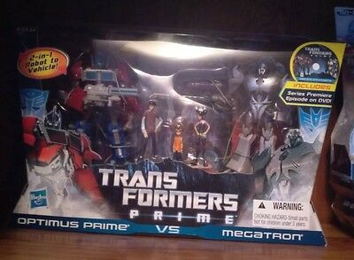 Transformers Prime First Edition Optimus Prime VS Megatron 2-Pack DVD Set