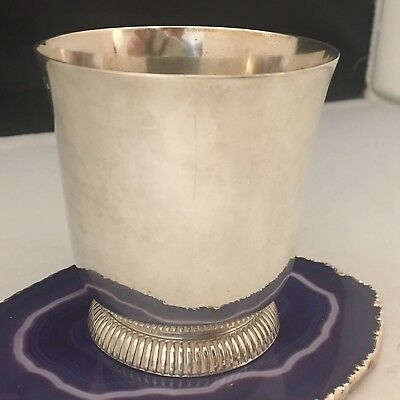 """PROST Paris c1935 Sterling Silver """"PIEDOUCHE"""" Drinking Cup Goblet EXPORT -L732"""