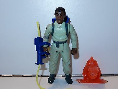 GHOSTBUSTERS - 'THE REAL' WINSTON ZEDDMORE 100% COMPLETE 1980s KENNER