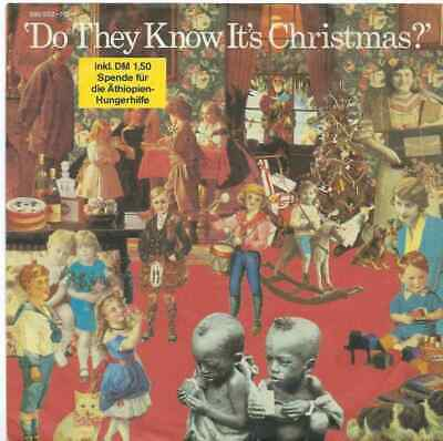 """Band Aid - Do They Know It's Christmas? - Import - 7"""" Single"""