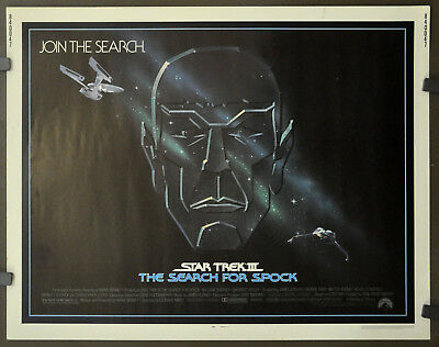 Star Trek Iii:the Search For Spock 1984 Orig 22X28 Movie Poster  William Shatner