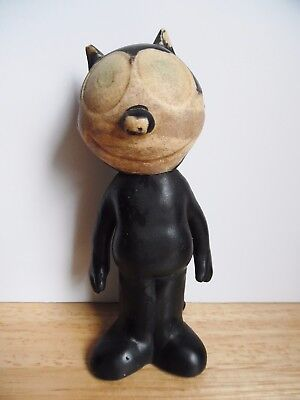 Vintage 1962 Felix the Cat Rubber Squeaky Toy Eastern Moulded ~FCC~ 1 DAY SHIP