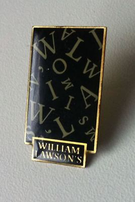 WILLIAM LAWSON'S Whisky Pin 17x30mm [15571]