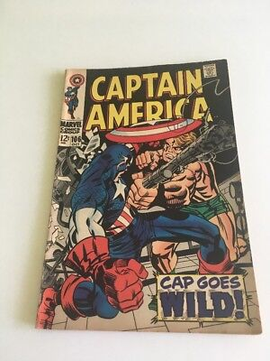 Captain America #106 October 1968 Marvel Comic