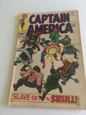 CAPTAIN AMERICA #104 Marvel Comics 1968