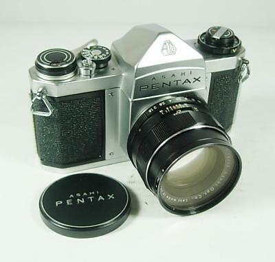 Pentax Sv With 55Mm F1.8
