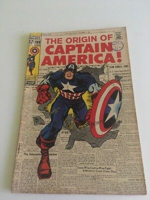 CAPTAIN AMERICA #109 - JAN 1969 Marvel Comic