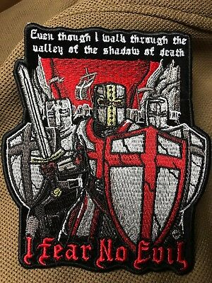 Knights of Templar Fear No Evil Patch