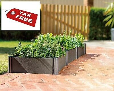 Garden Bed Kit Raised Planter Vegetable Micro Irrigation kit included - NO TAX