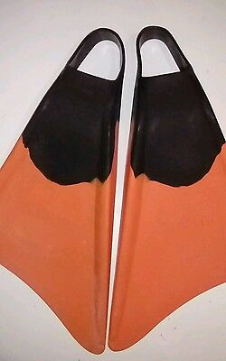 STEALTH Boogie Board Fins Flippers Body Surf size SMALL excellent condition