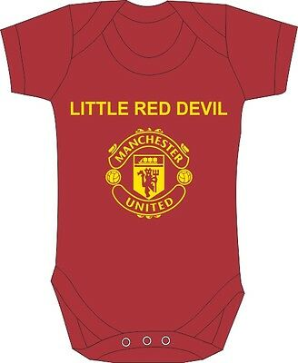 Manchester United Baby Grow