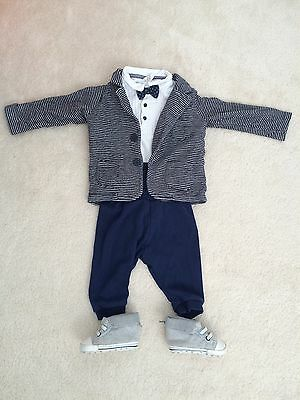 Baby Wedding/christening/special Occasion Complete Outfit H&M