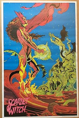NEW Vintage 1987 Marvel The Scarlet Witch Poster