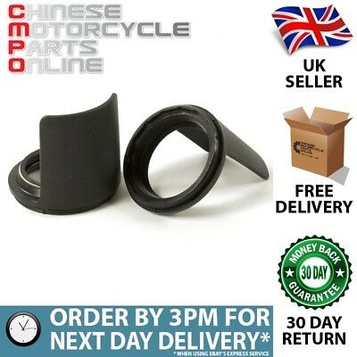 Lextek Fork Dust Seals 35x48mm with Protector (Pair) (PDSEAL009)