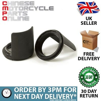 Lextek Fork Dust Seals 43x55mm with Protector (Pair) (PDSEAL024)